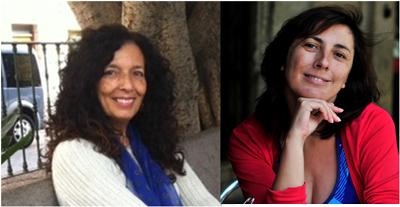 Ana Cristina Herreros y María Jesús Alvarado